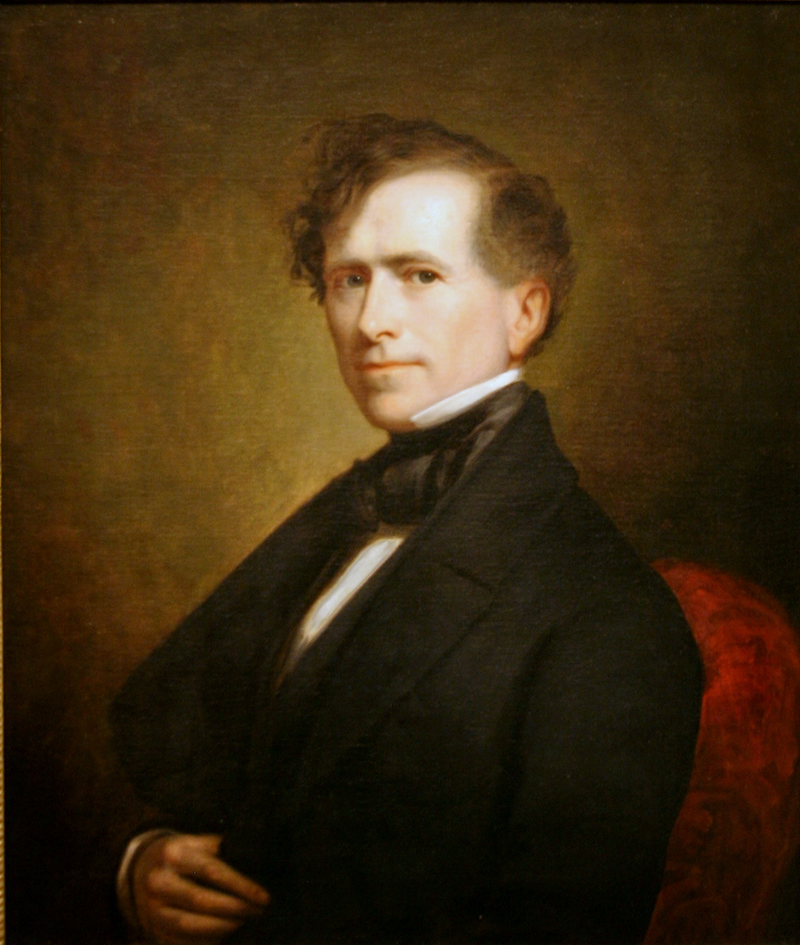 14th  US president, Franklin Pierce