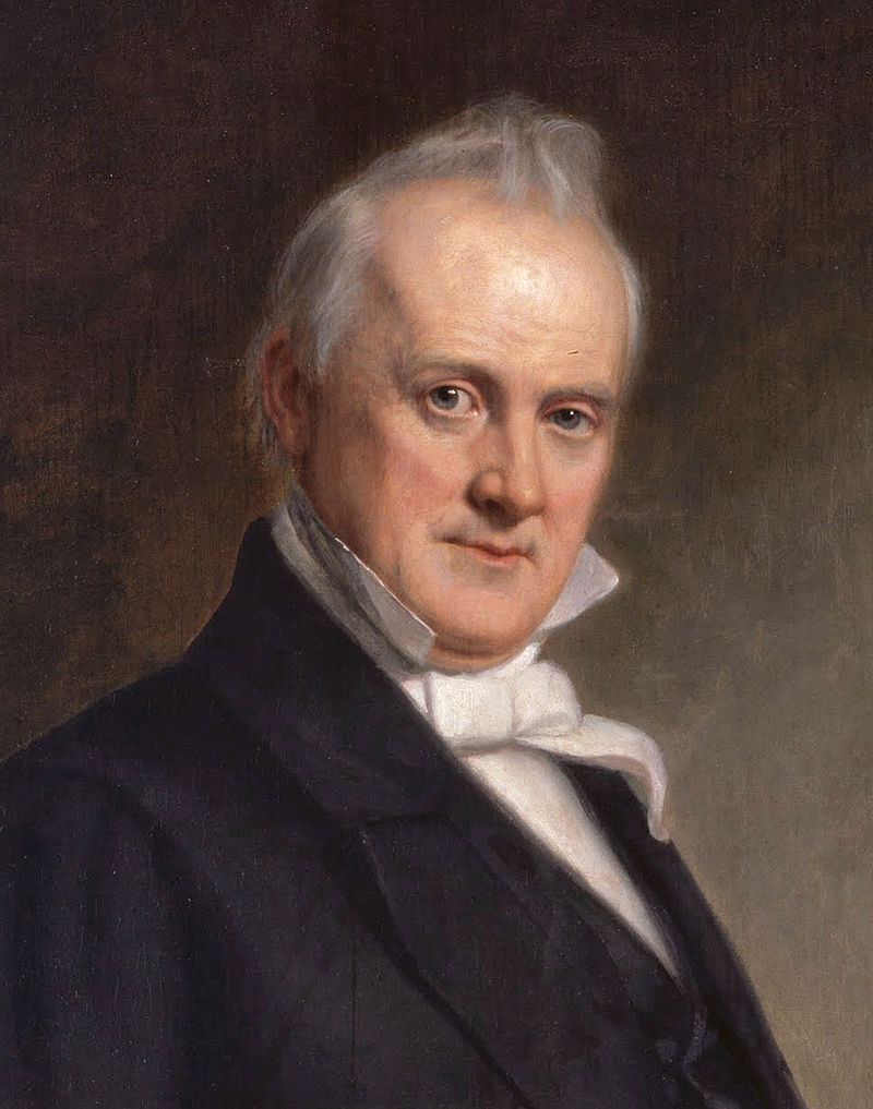 15th  US president ,James Buchanan