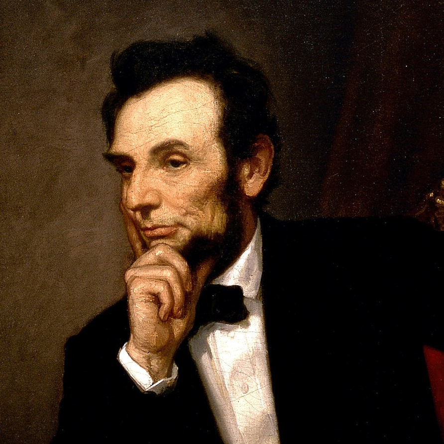 16th  US president, Abraham Lincoln