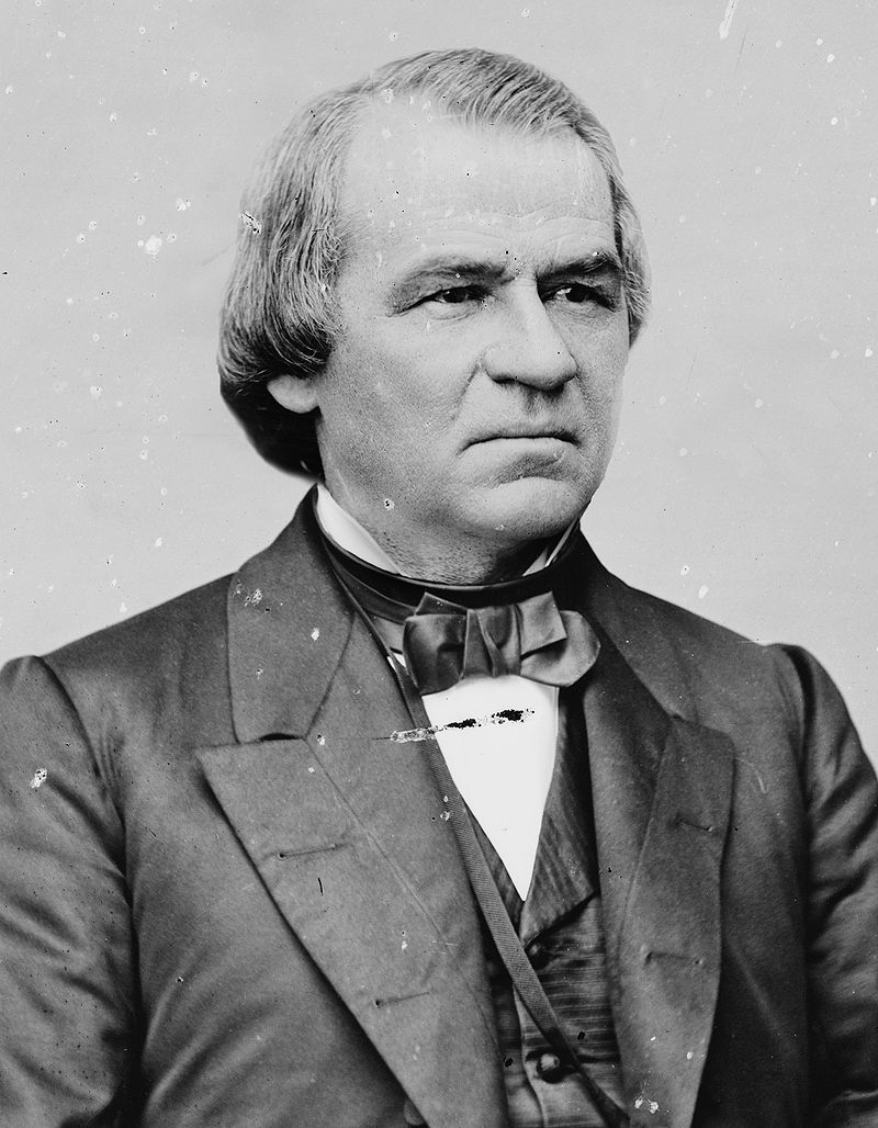 17th  US president, Andrew Johnson