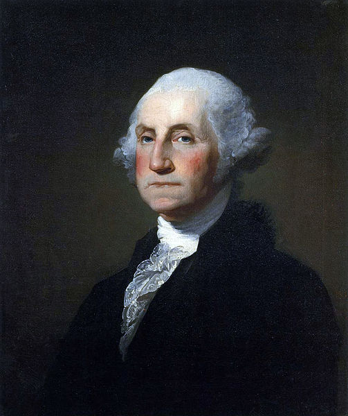 1st  US president, George Washington