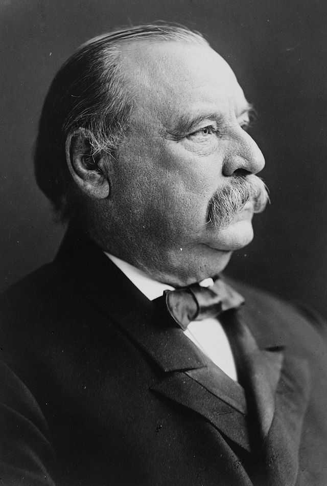 22nd  US president, Grover Cleveland