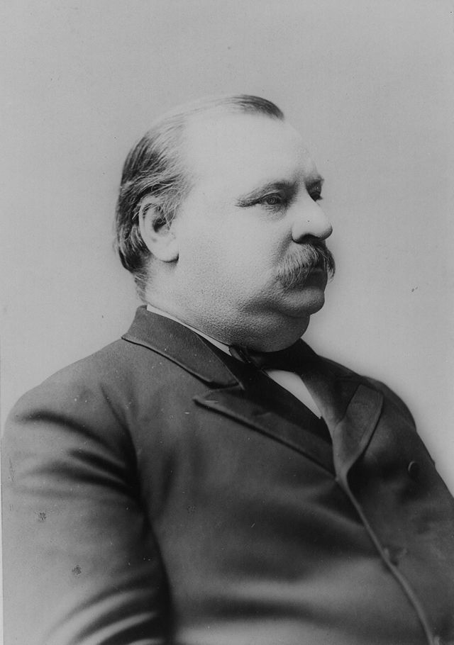 24th  US president ,Grover Cleveland