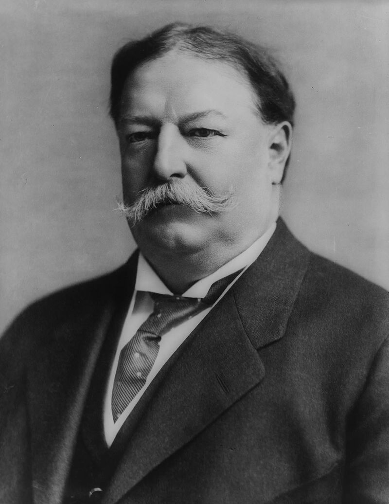 27th US president, William Howard Taft