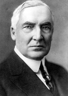 29th US president, Warren G. Harding