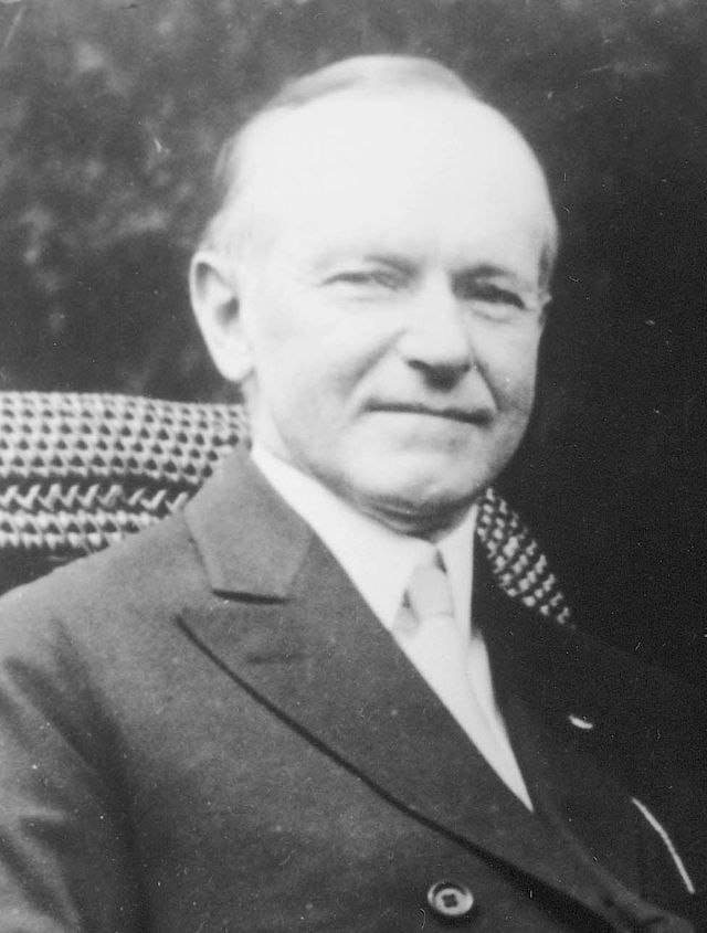 30th US president, Calvin Coolidge