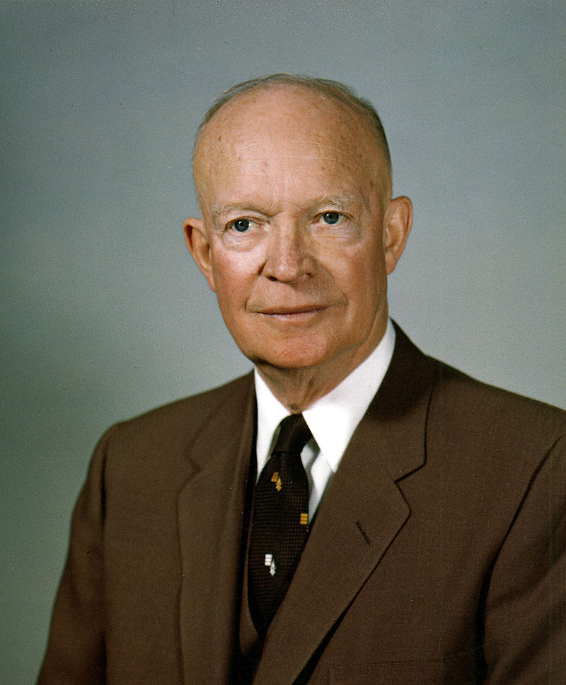 34th US president, Dwight David Eisenhower
