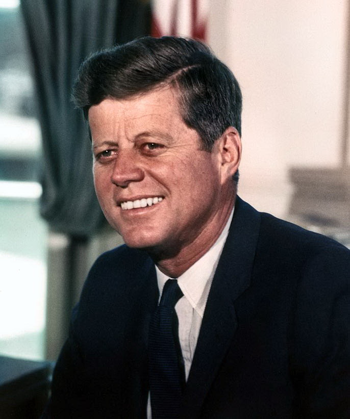 35th US president, John Fitzgerald Kennedy
