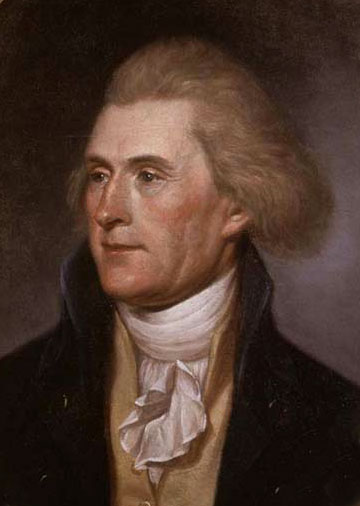 3rd  US president ,Thomas Jefferson