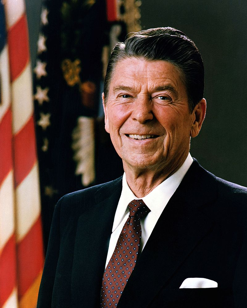 40th US president, Ronald Wilson Reagan