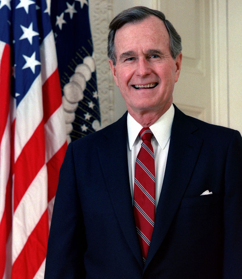 41th US president ,George Herbert Walker Bush