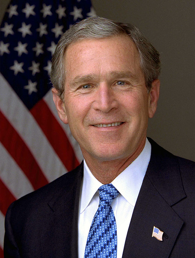 43rd US president ,George W. Bush