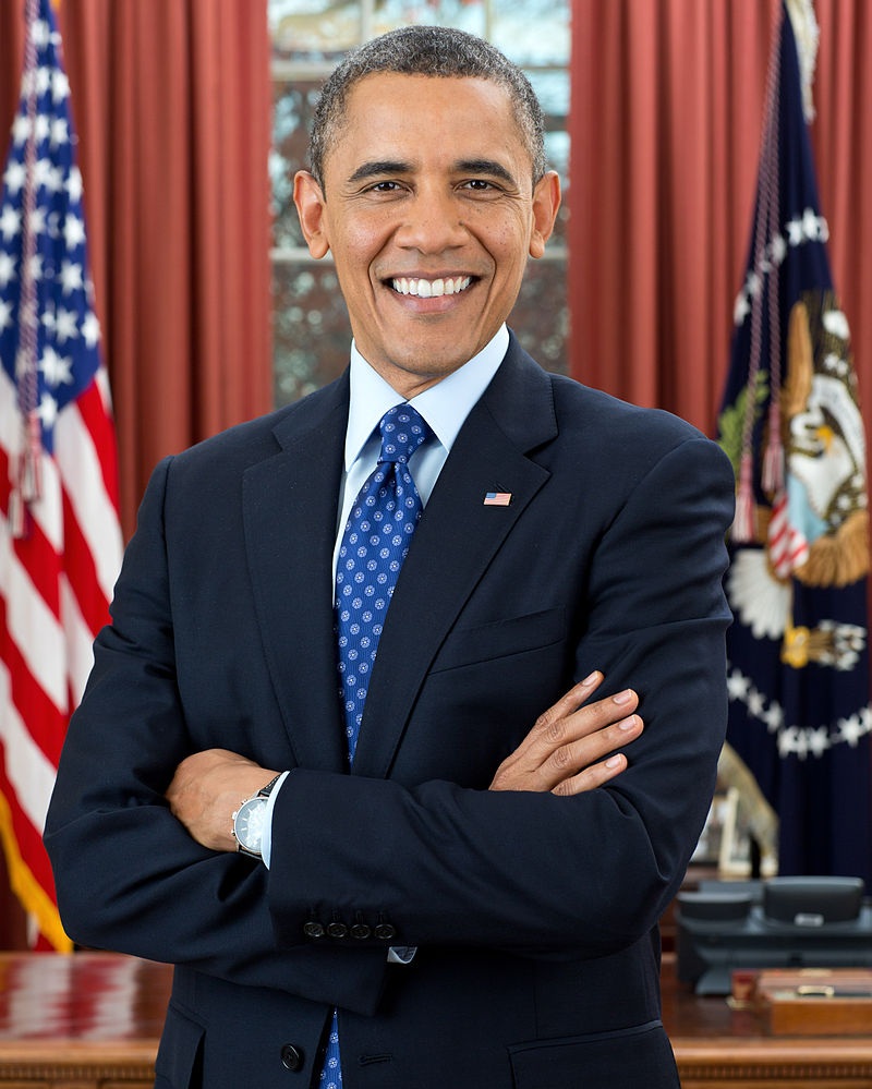 44th US president, Barack H. Obama