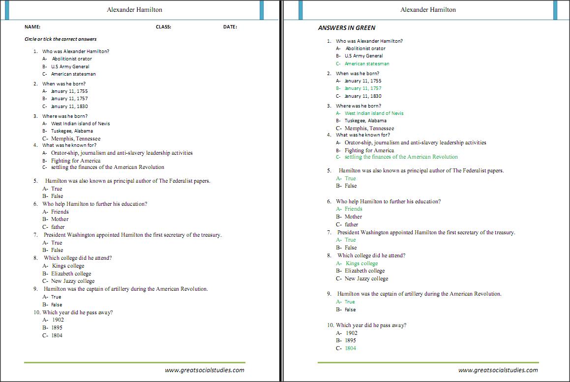 Alexander The Great Worksheet - Checks Worksheet