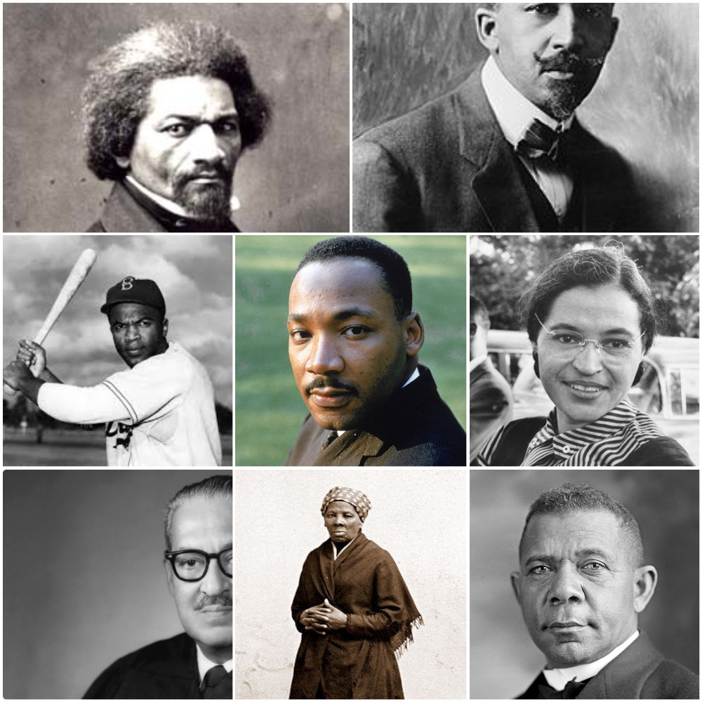 famous black people in U.S History