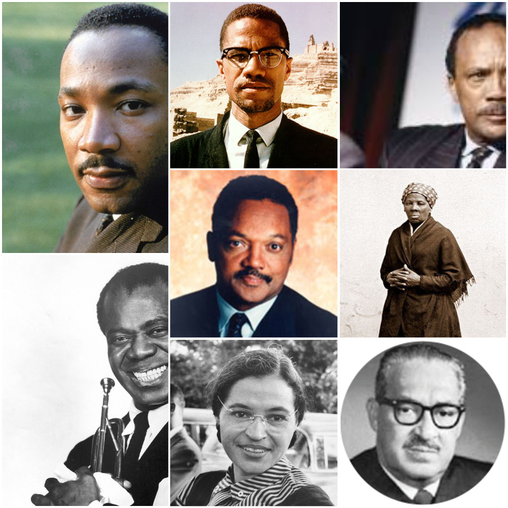 Famous black people in the history of america