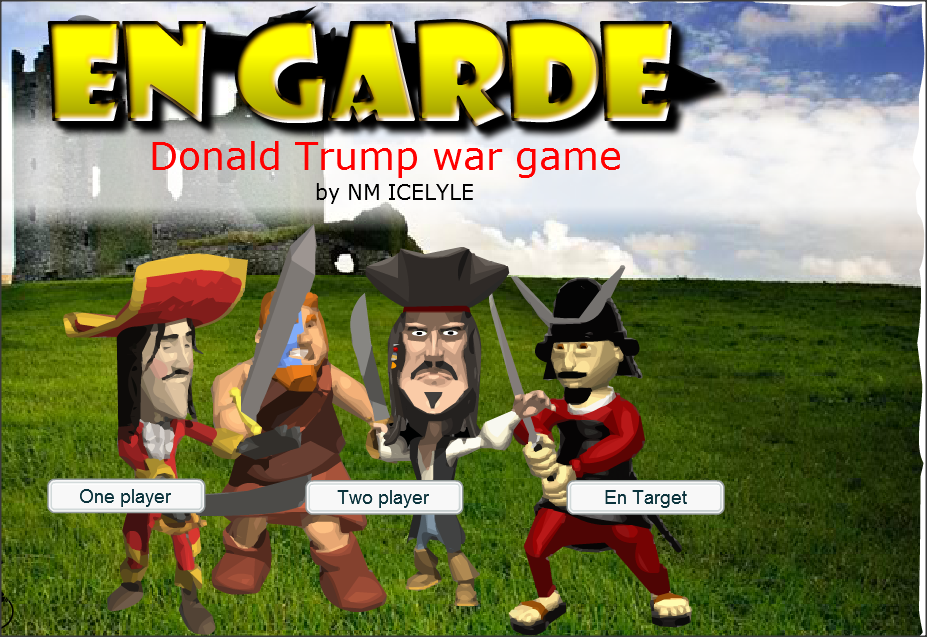 free kids interactive online game on Donald trump