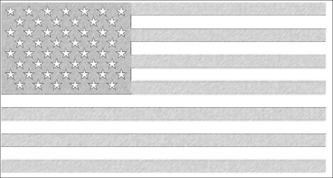 Amarican flag (American flag) are suitable and good activity sheets for kids