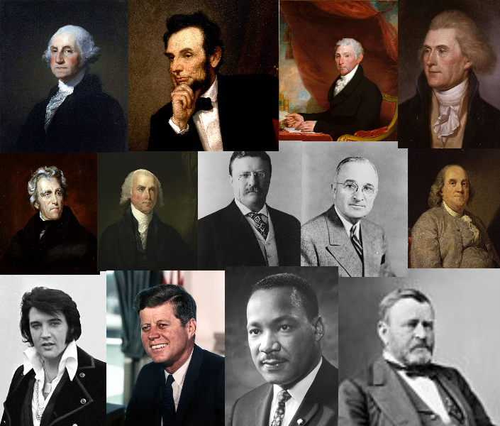 Some Important facts about Famous men in American History,Picture of famous men in u.s History